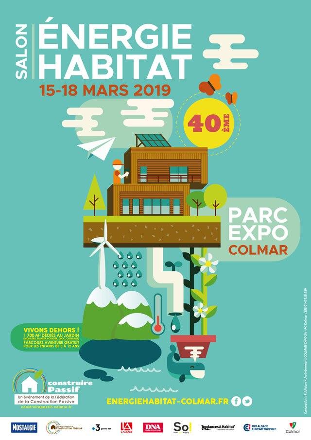 40ème salon Énergie Habitat à Colmar